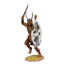 ZUL020 uMhlanga Zulu Warrior with Axe and Shield by First Legion