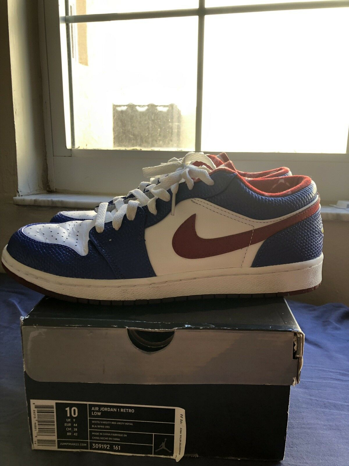 Air Jordan Retro 1 Low Sz 10 309192 161