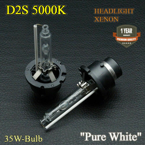2x D2S Xenon HID Ampoules Blanc Pur 5000K Low Beam Phares Saab 9-3 2002-2007