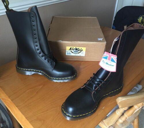 In Black Uk Eu Dr 1914 Boots Martens England Made 47 Leather 12 xSUwqOUF