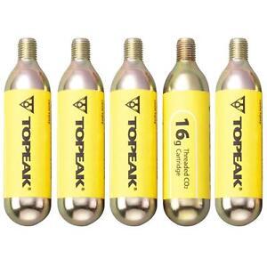 Topeak-5er-set-co2-cartuchos-co2bra-aire-comprimido-bike-bicicleta-bomba-inflator-16g
