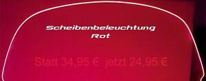 HONDA Goldwing GL 1800 DISCHI ILLUMINAZIONE ROSSO MADE IN GERMANY 703