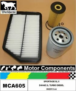 FILTER-SERVICE-KIT-for-KIA-SPORTAGE-SL-II-D4HAE-2L-TURBO-DIESEL-06-2013-on
