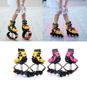 M-L-2in1-Fitness-Jump-Shoes-amp-Roller-Skates-Jumping-Space-Bounce-Shoes-For-Child
