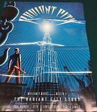 "MR. X The Radiant City Story ( ) Vortex Comics 27"" x 35"" promotional poster"