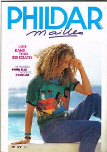 *** Phildar Mailles *** N° 177 De 1e Trim 1989 // Rp109
