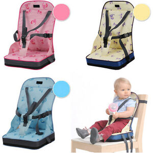 portable travel baby kids toddler feeding high chair booster seat cover cushion ebay. Black Bedroom Furniture Sets. Home Design Ideas