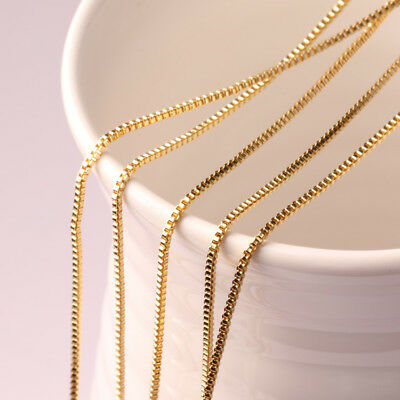 """Wholesale Lots 5//10//50 Pcs 925 Sterling Silver 1.4mm Wave Chain Necklace 16/""""-28/"""""""