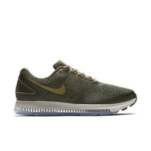 d27799519e4 Mens NIKE ZOOM ALL OUT LOW 2 Medium Olive Running Trainers AJ0035 ...