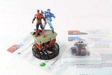 Heroclix MARVEL Deadpool Superior Spider-Man 060 & Araña bots Sr Super Raro
