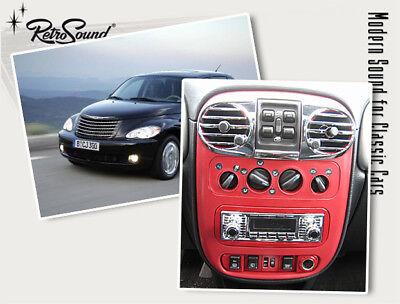 Für Chrysler Pt Cruiser Youngtimer Oldtimer Auto Radio Dab+ Fm Usb Bluetooth Aux Senility VerzöGern