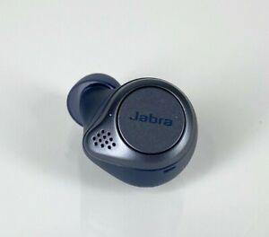 Jabra Elite Active 75t True Wireless Earbud Replacement Navy Oem Left Side 615822013765 Ebay
