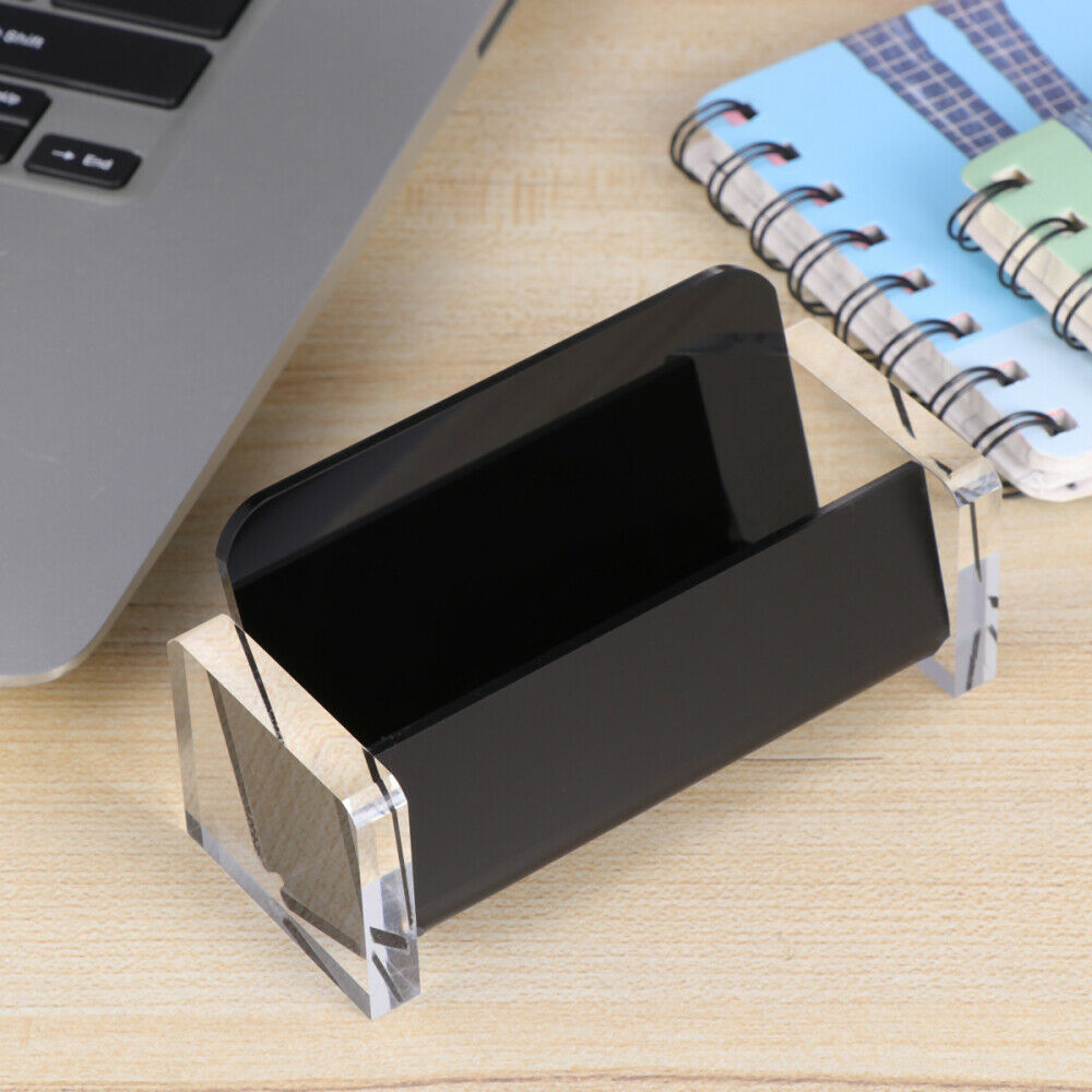 1Pcs Card Holder Durable Business Card Stand Note Display Stand for Office