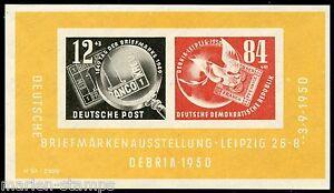GERMANY-DDR-SC-B21a-MICHEL-BL7-MINT-NEVER-HINGED