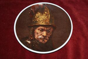 Rembrandtder Mann Mit Goldhelm Teller Porzellan Museum Ebay