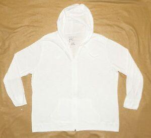 d7c606a377f Plus JMS Just My Size 100% Cotton SLUB Hoodie Hooded Zipper Jacket ...