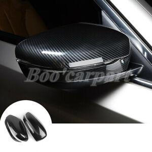 Fuer-BMW-5-Series-G30-G31-ABS-Karbonfaser-Stil-Spiegelkappen-Aussenspiegel-Rahmen
