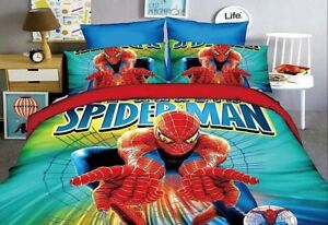 Spiderman-Copri-Piumone-Copripiumone-Lenzuolo-Federa-Duvet-Cover-SPIDUV11-P