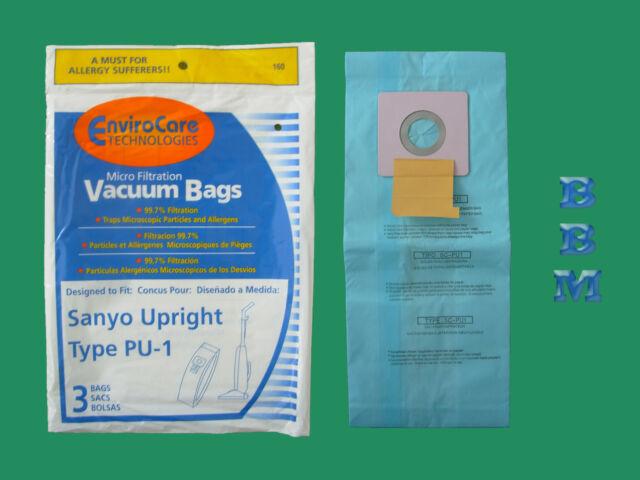 Panasonic SC54 Kenmore LG Vacuum Cleaners 150 Sanyo Upright Pu-1 Vacuum Bags