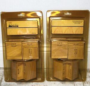 VTG Hobby Lobby Miniature Dollhouse Kitchen Cabinets Set ...