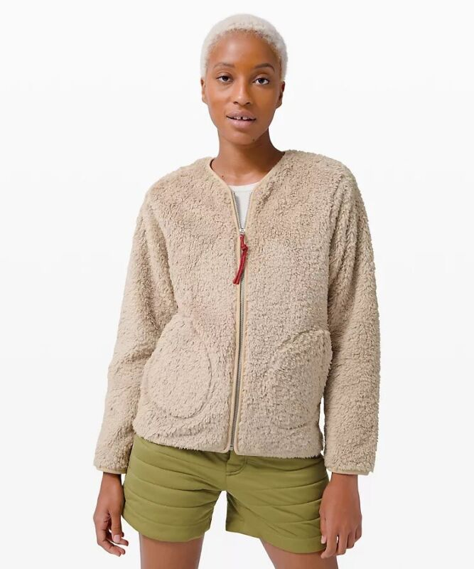Temperate New With Tag, Oh So Sherpa Full Zip, Size 8