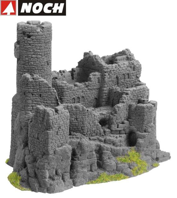 Noch H0 /Tt / N 58609 Ruina Castillo 15,5 X 10cm, 12cm Alto - Nuevo + Ovp