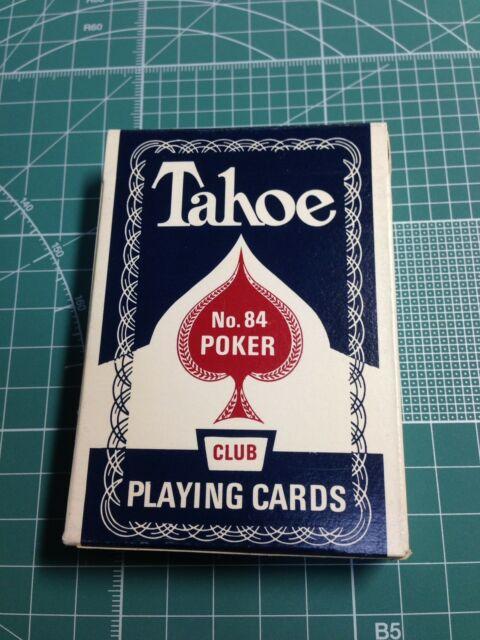 Arrco Tahoe Playing Cards Blue Deck New Originals! Not Reprint Dan And Dave