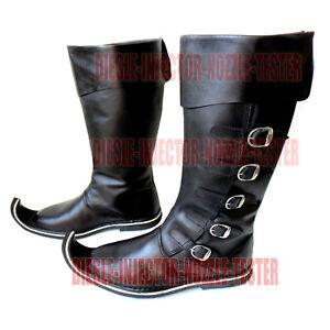 Mens-Medieval-Boots-Men-Larp-Sca-Renaissance-Period-Boot-Shoes-Stylish-Footwear