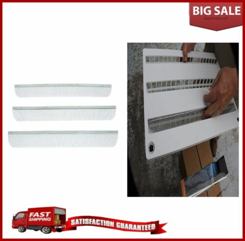 RV Camper Flying Insect Screen Refrigerator Vents Protector Stainless Steel New