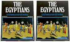 Atlantic The Egyptians Pharoah's Court - # 1501 - 2 mint-in-box sets 1:72 scale