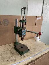 Manual Bench Hand Punch Press Machine Desktop Workshop Garage Js 16 Used