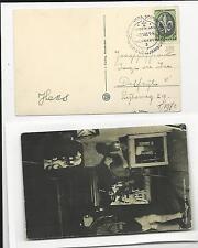 Scout / World Jamboree Netherlands  1937 postcard troephuis + cancel