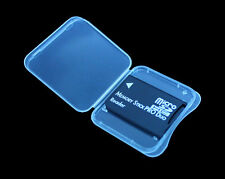 Micro SD SDHC TF to MS Memory Stick Pro Duo Adapter For PSP + Plastic Case