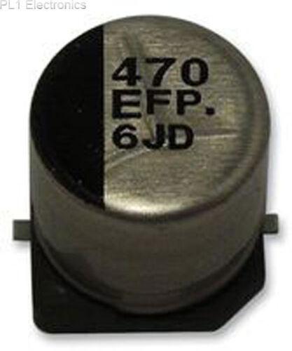 10uf 25v 105 ° C Precio: 10 Panasonic-eeefp1e100ar-Capacitor b Funda