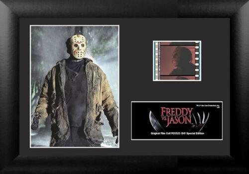 Film Cell Genuine 35mm Framed /& Matted Freddy Krueger Vs Jason USFC5523