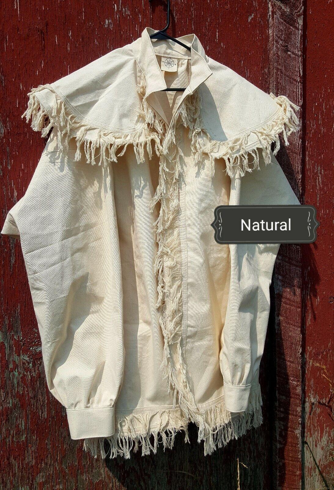 Woodsman Frock Coat/ jacket for fur trade re-enactments Size: 3XL