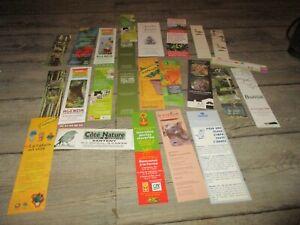 Marque pages-Lot  24 collectors-Thème jardin,plante,animaux...
