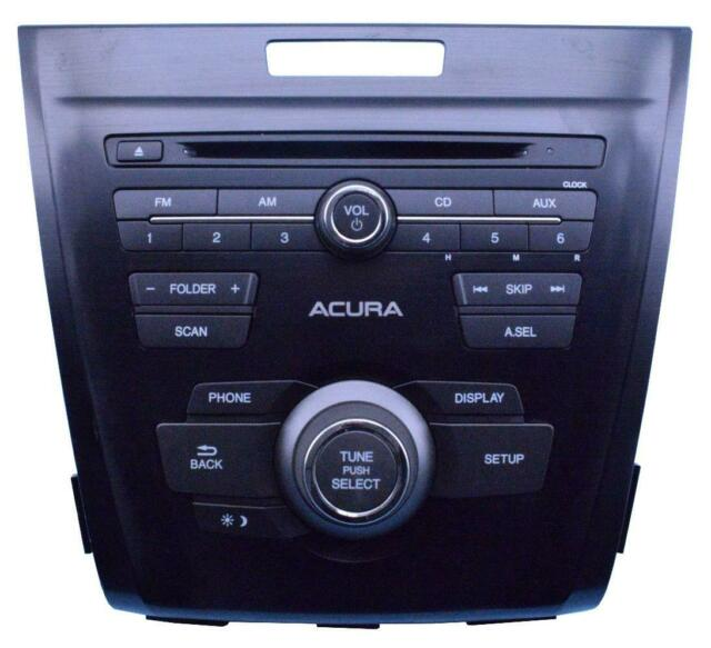 2014-2015 Acura ILX AM FM CD Player Radio 39100-TX6-A01