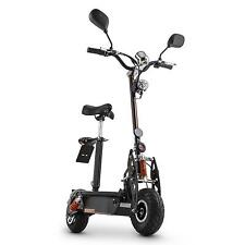 Takira Scooter Elettrico 500w 40 20KM/H E-Scooter Sellino Regolabile Mini Moto