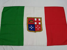 BANDIERA ITALIA MERCANTILE CM 50 X 75 RESISTENTE ACQUA ITALIANA MARINARA MARINA