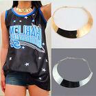 Fashion Womens Punk Style Metal Collar Chain Bib Choker Statement Necklace IMA