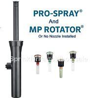 Hunter Pro Spray 6 15cm Pros-06 Sprinkler Body-srs Easy Install Side Inlet Garden