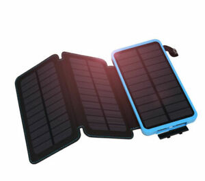 1000000mAh-Three-3-Solar-Panels-Battery-Charger-Power-Bank-For-Cell-Phone