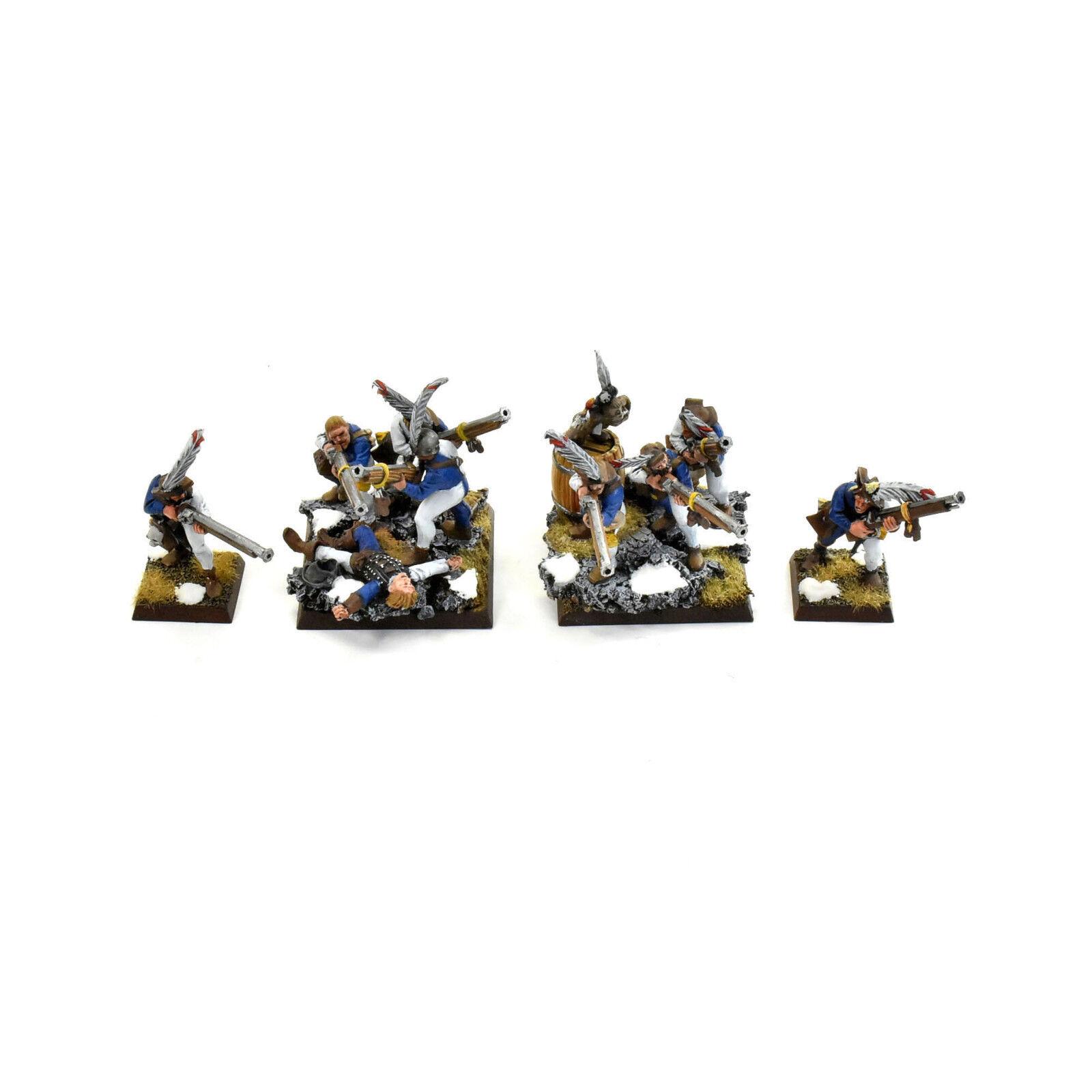 El Imperio Handgunners freeguild Guardia estado tropas  2 Pro Pintado Middenheim