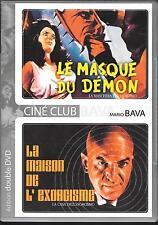 2 DVD / 2 FILMS--LE MASQUE DU DEMON & LA MAISON DE L' EXORCISME--MARIO BAVA