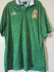 33eff3a7fd7 Mexico World Cup 1994 Home Football Shirt Size Extra Large XL  40180 ...