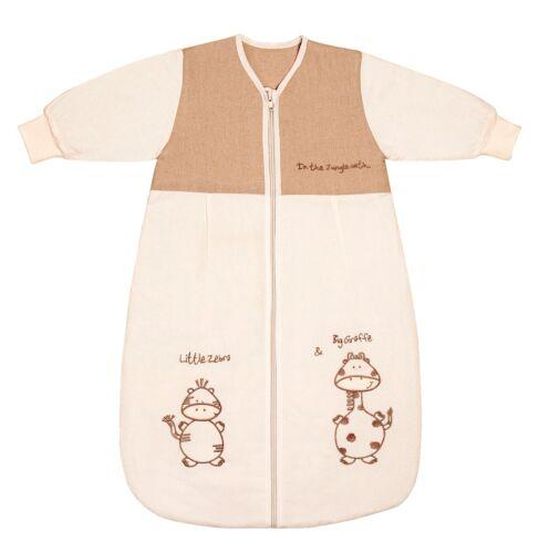 Schlummersack BABY HIVER sac de couchage Manches longues Giraffe 3.5 tog-disponible en 4 t