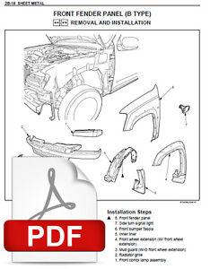 2007 isuzu kb p190 4ja1 4jh1 4jk1 4jj1 c24se hfv6 engines service rh ebay com isuzu 4ja1 engine factory service repair manual isuzu 4ja1 engine service manual