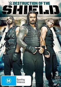 The-WWE-Destruction-Of-The-Shield-DVD-3-Disc-Set-New-Sealed-Region-4