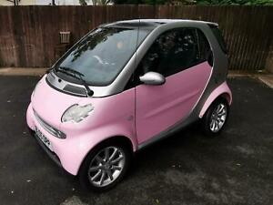Smart-Smart-0-7-Fortwo-Pink-Edition-43000-miles-full-service-history